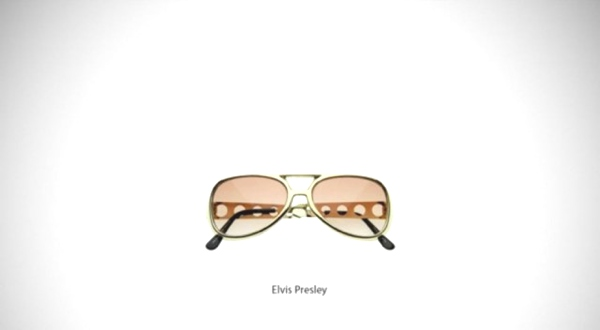 Elvis Presley- Must Have Famous Glasses and Sunglasses