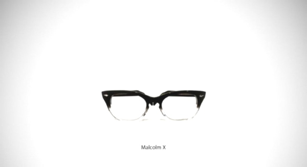 Malcolm X-Must Have Famous Glasses and Sunglasses