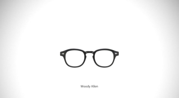 Woody Allen-Must Have Famous Glasses and Sunglasses
