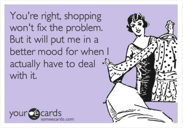 Online shopping funny