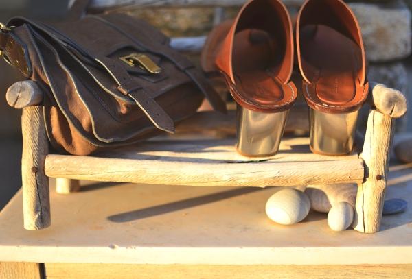 PS1, Celine sandals metal heel