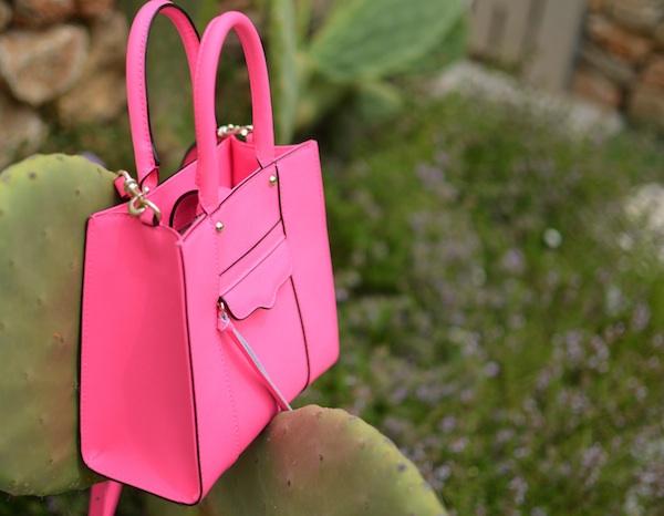 Rebeca Minkoff tote pink
