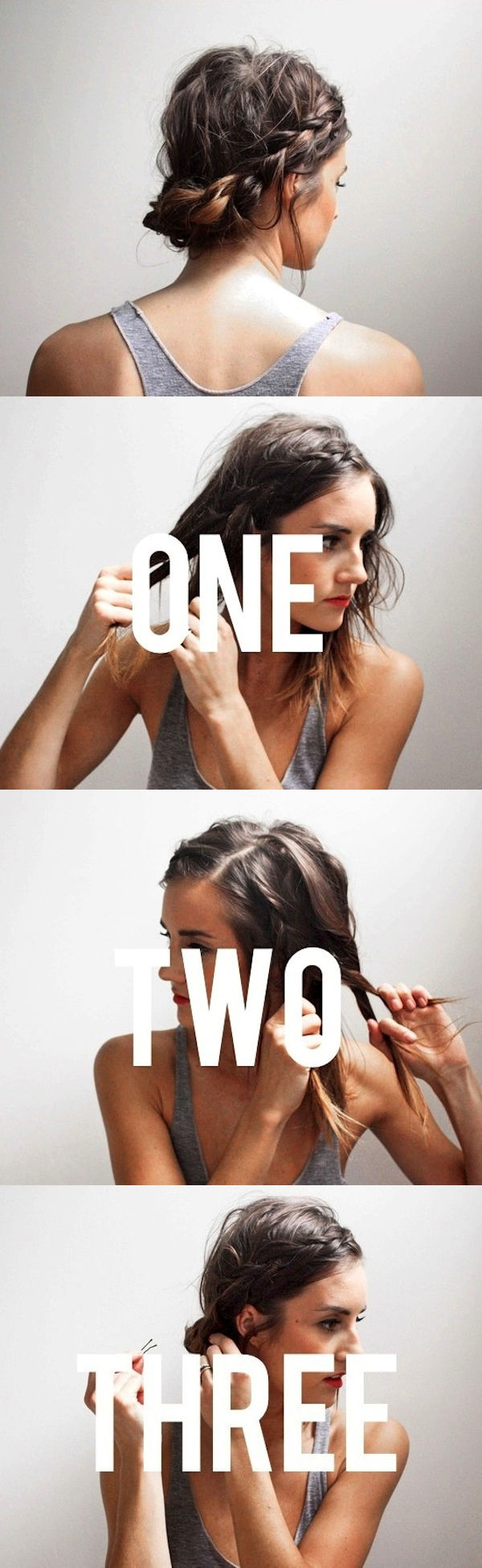 Side braid DIY
