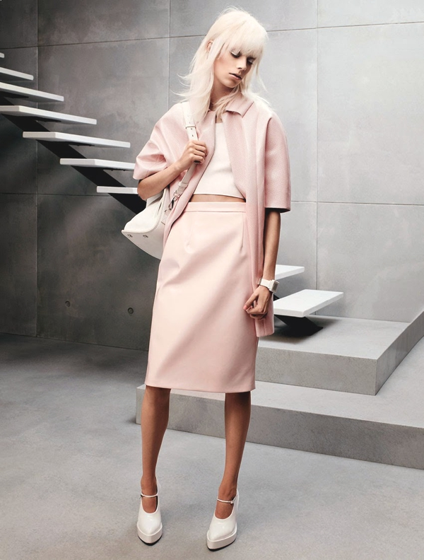 Vogue Russia pastels