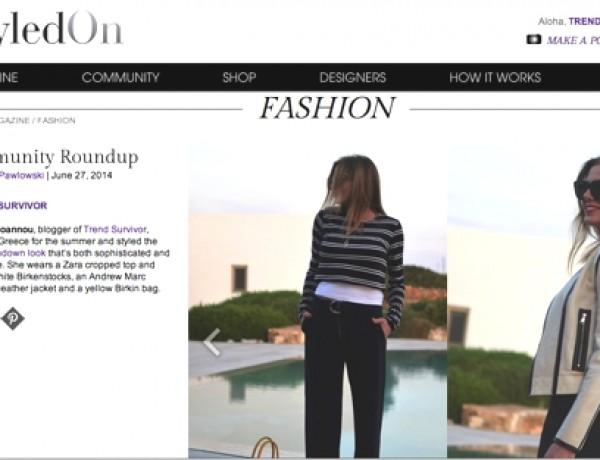 Trend Survivor Feature Styledon weekly roundaup