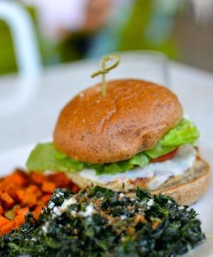 True Food Kitchen turkey burger