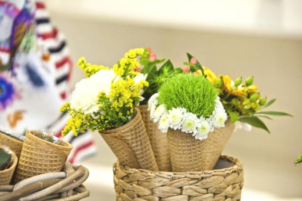 cone flowers DIY