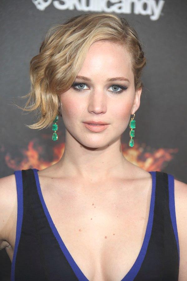 -Jennifer Lawrence hairstyle