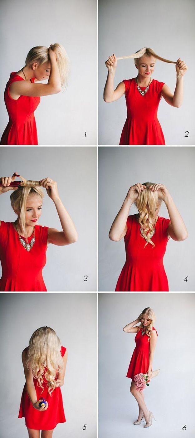 Date Hairstyle Quick Curl Tutorial Trendsurvivor