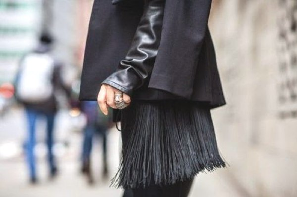 fringed bags street style 2014