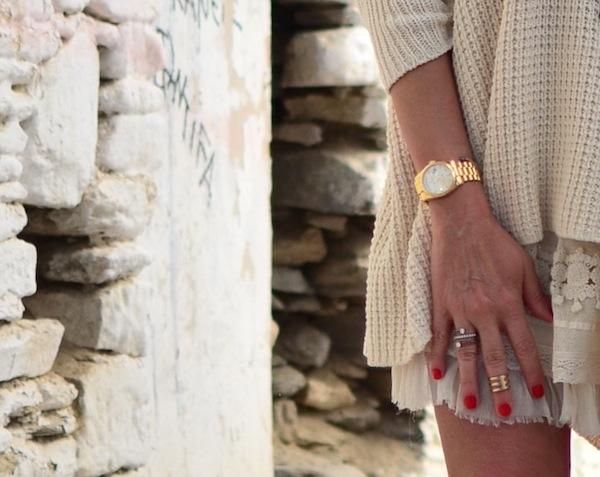lace Rolex watch