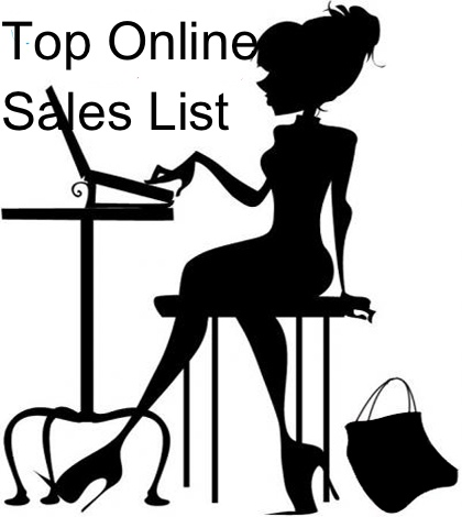 online-shopping sales list