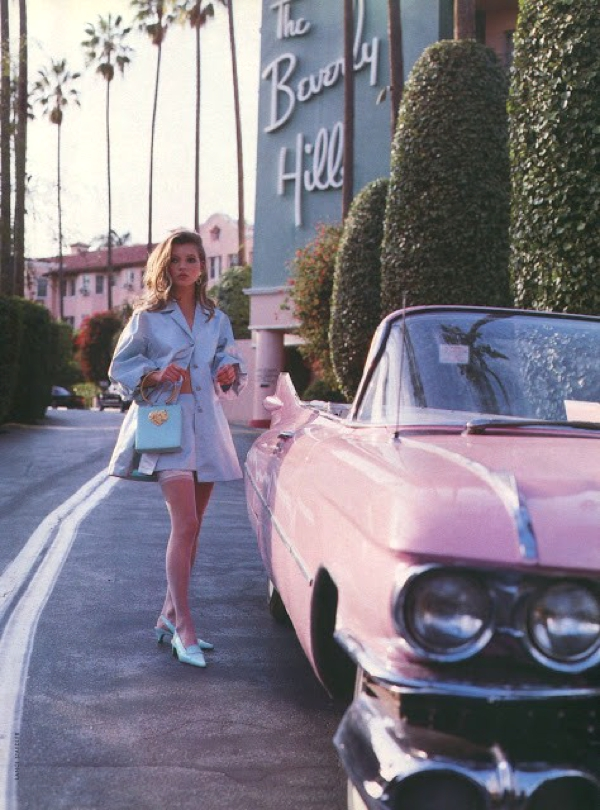 pastels car