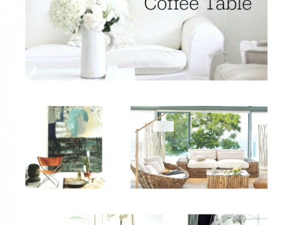 5 TIPS To Style your Coffee Table 3