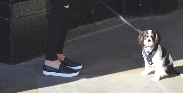 The Perfect Leather Slip-On Sneakers 2
