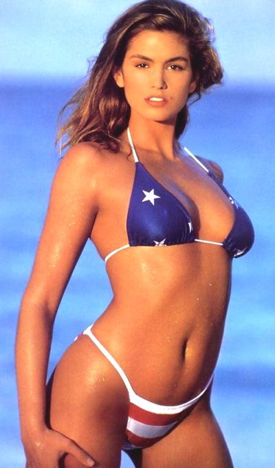 cindy-crawford-american-flag-stars-stripes-bikini
