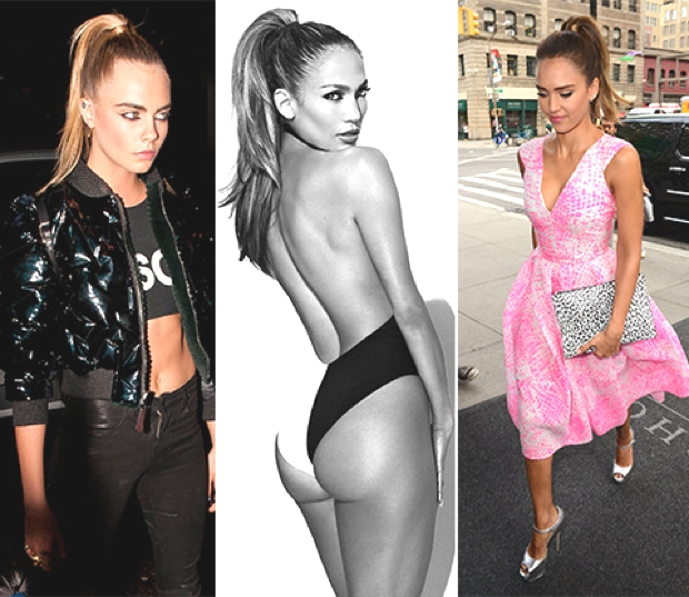 Cara-Delevingne-or-Jessica-Alba-Jennifer-Lopez celebrity hairstyle