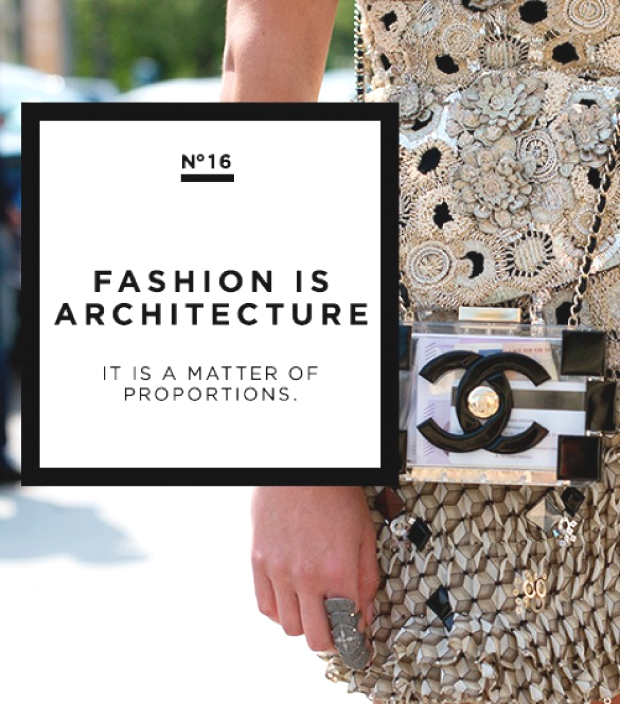coco chanel fashion is architecture