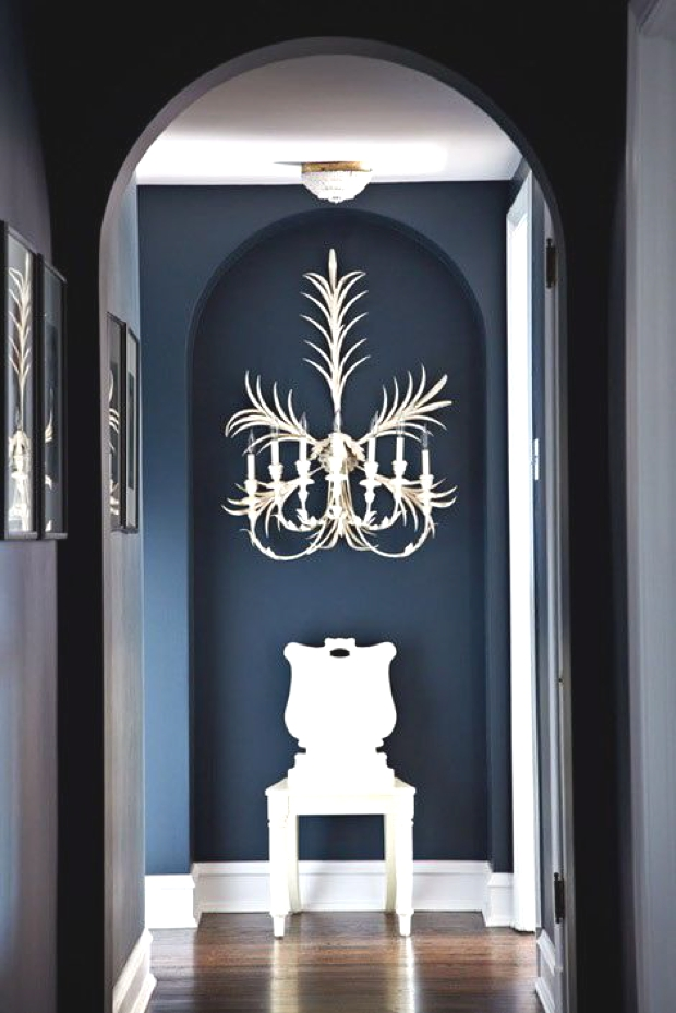 Accent Wall Painting corridor