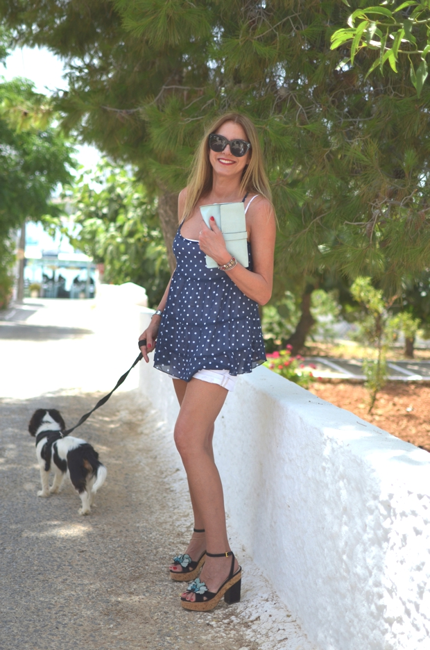 Greek Island style outfit