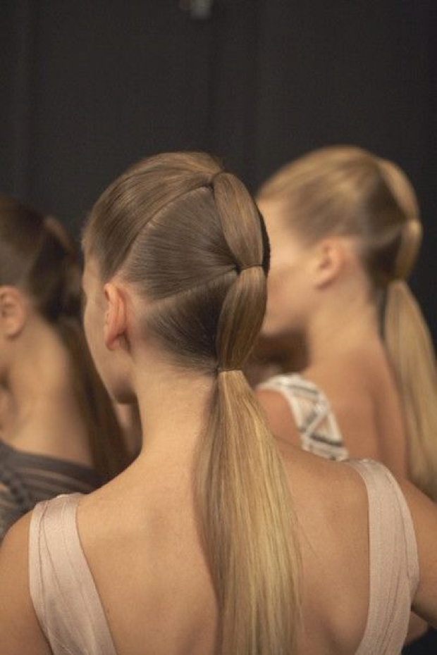fashion show hairstyle