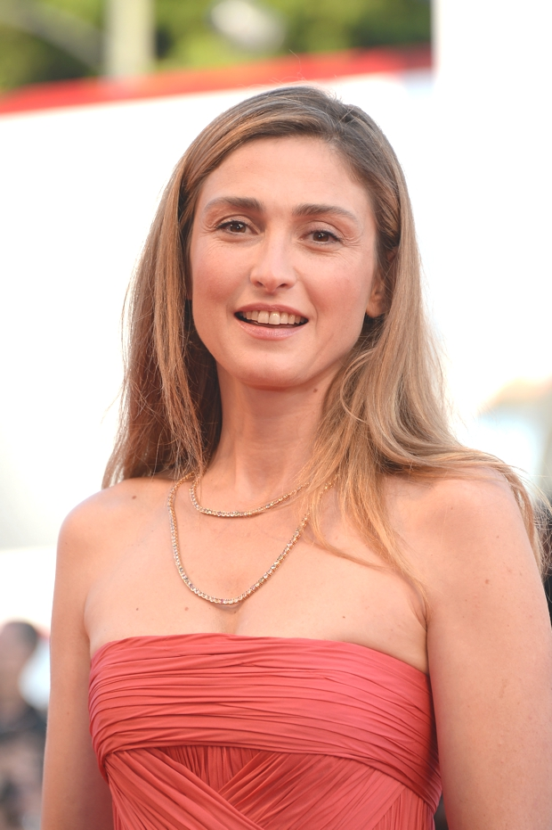 Julie Gayet wears Chopard to the 71st Venice Film Festival opening night, Venice, August 27th, 2014