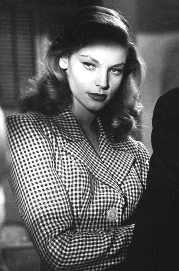 Lauren Bacall tailored jacket