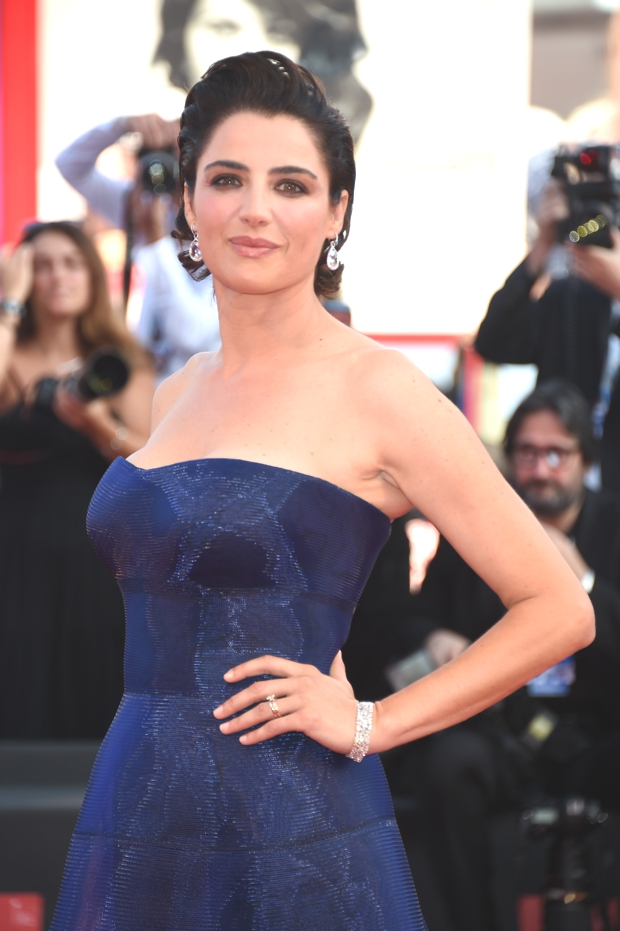Luisa Ranieri wears Chopard to the 71st Venice Film Festival opening night, Venice, August 27th, 2014