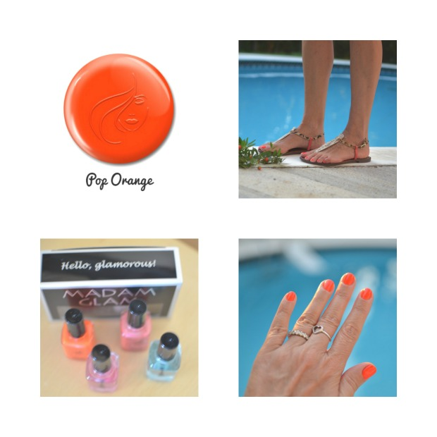 orange pop collage