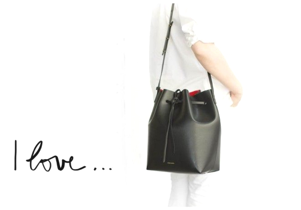 black flamma bucket bag Garance Dore
