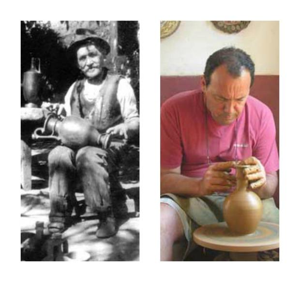 Rodios pottery family 1920s