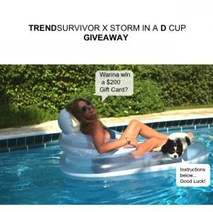 Trend Survivor Giveaway
