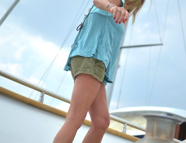 TrendSurvivor Yacht casual shorts05