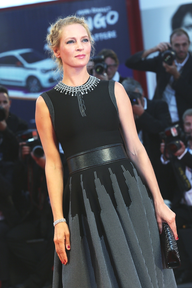 Uma Thurman, Nymphomaniac Premier, Venice, September 1st_2