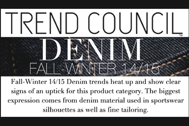 denim trend fall Winter 2014-15