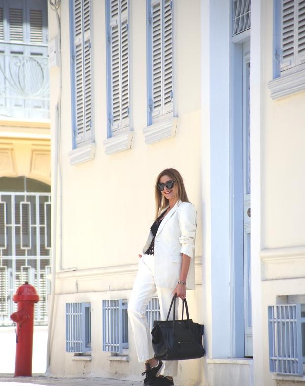 Androgynous style Nina Papaioannou