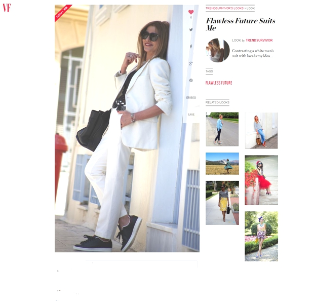 TrendSurvivor Featured in Vanity Fair  Nina Papaioannou