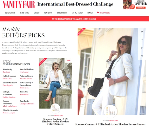 TrendSurvivor Featured in Vanity Fair , Nina Papaioannou
