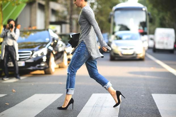 Paris Street Style SS 2015