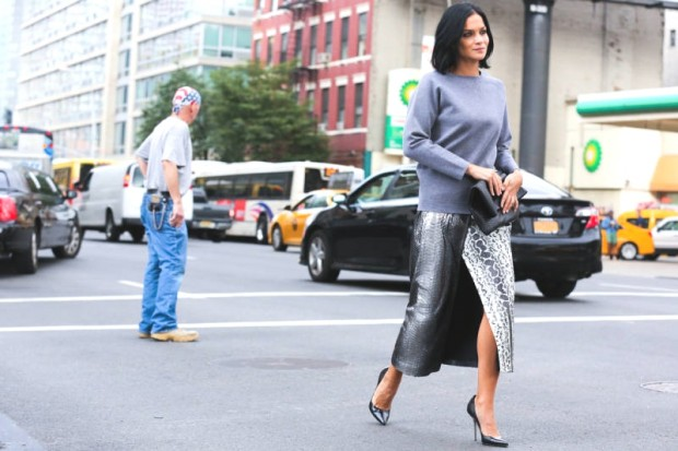 Best of New York fashion Week Street style