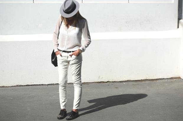 Street Style | Nina Papaioannou Maison Michel Andre hat