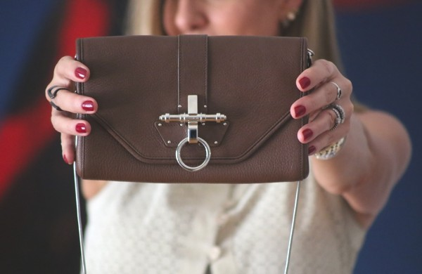 Givenchy Obsedia bag brown clutch