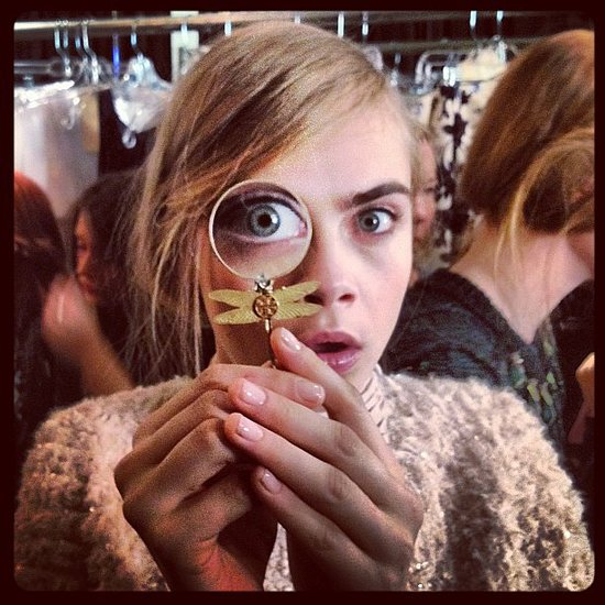 Cara Delevigne pretty eyebrows