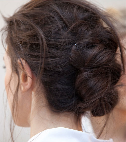 Chic braided updo
