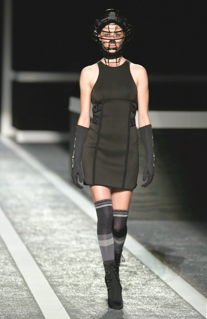 H and M Alexander Wang Runway dress