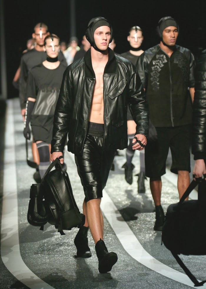H and M Alexander Wang Runway Finale