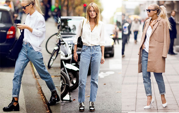 How to wear the Mom jeans trend?