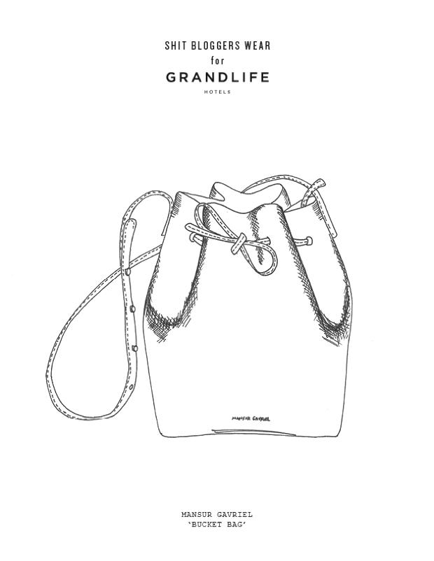 Mansur Gavriel bucket drawing