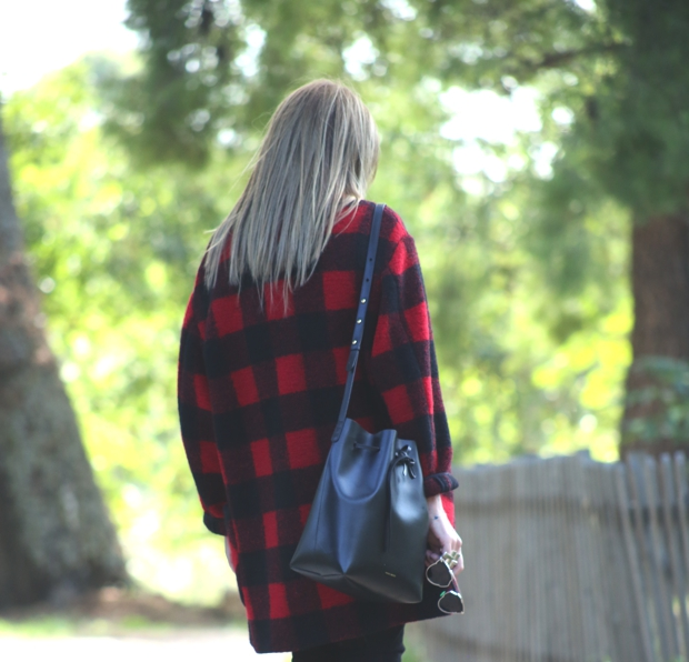 Street Style Casual Plaid Isabel Marant Jacket08