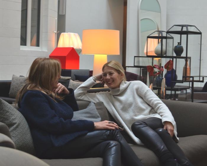 Nina Trendsurvivor papaioannou and Dania Stavraka Nobis Hotel Sweden